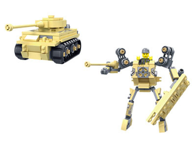 KAZI / GBL / BOZHI KY98111-4 Transformer Armor: Pioneer War Wing Condor, White Man's Heart, War God, Justice Allied Aurora, King of Land Warfare 4