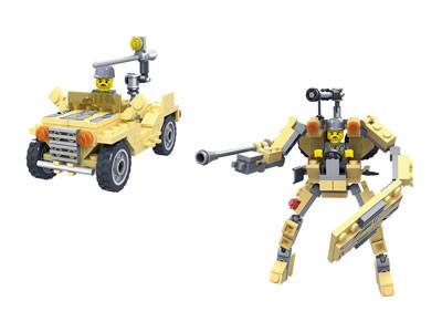 KAZI / GBL / BOZHI KY98111-4 Transformer Armor: Pioneer War Wing Condor, White Man's Heart, War God, Justice Allied Aurora, King of Land Warfare 6
