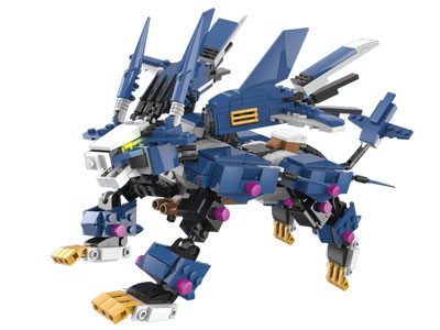 KAZI / GBL / BOZHI KY98112-2 Armory Mechanical Beasts: Killing Dragons, Zero-Type Long Tooth Lions 2