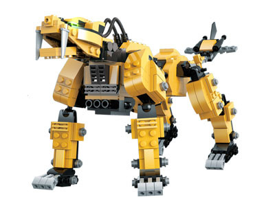 KAZI / GBL / BOZHI KY98113-1 Armory Mechanical Beasts: Heavy Sword Long Tooth Lion, Golden Sword Tooth Tiger 1