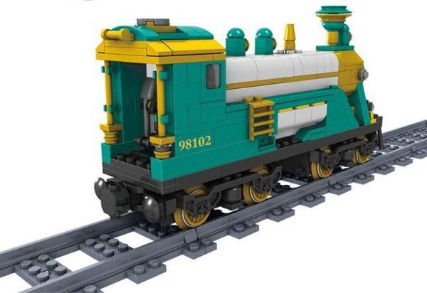 KAZI / GBL / BOZHI KY98102 Rail train: Australian Puffinbilly Steam Train 3