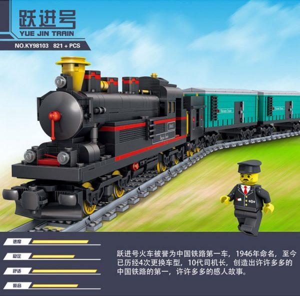 KAZI / GBL / BOZHI KY98226 Rail Train: Leap Forward 1