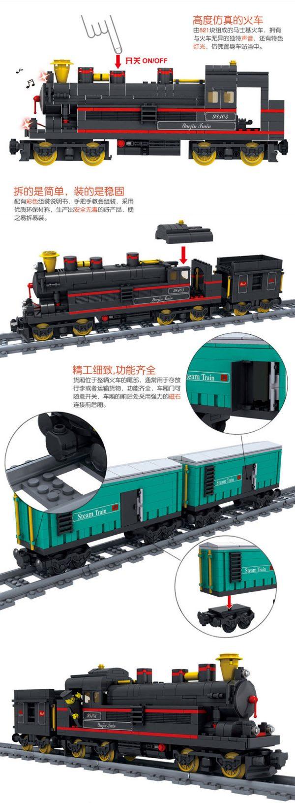 KAZI / GBL / BOZHI KY98103 Rail Train: Leap Forward 2