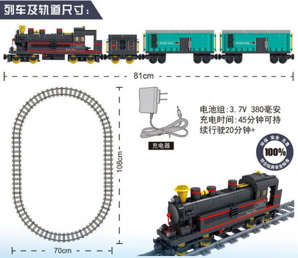 KAZI / GBL / BOZHI KY98226 Rail Train: Leap Forward 3