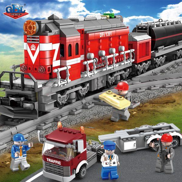 KAZI / GBL / BOZHI KY98219 Rail train: Dongfeng 5 diesel engine 1