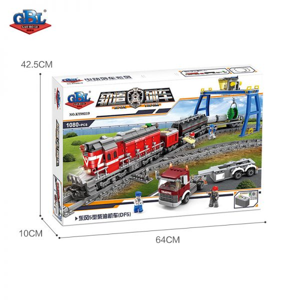 KAZI / GBL / BOZHI KY98219 Rail train: Dongfeng 5 diesel engine 4