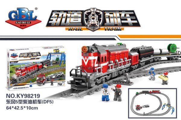 KAZI / GBL / BOZHI KY98219 Rail train: Dongfeng 5 diesel engine 5