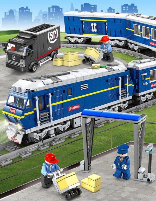 KAZI / GBL / BOZHI KY98220 Rail train: Dongfeng 11Z internal combustion locomotive 2