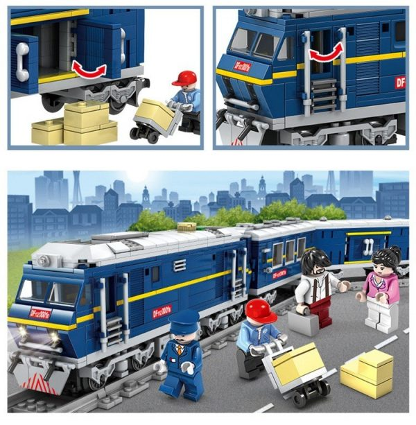 KAZI / GBL / BOZHI KY98220 Rail train: Dongfeng 11Z internal combustion locomotive 8