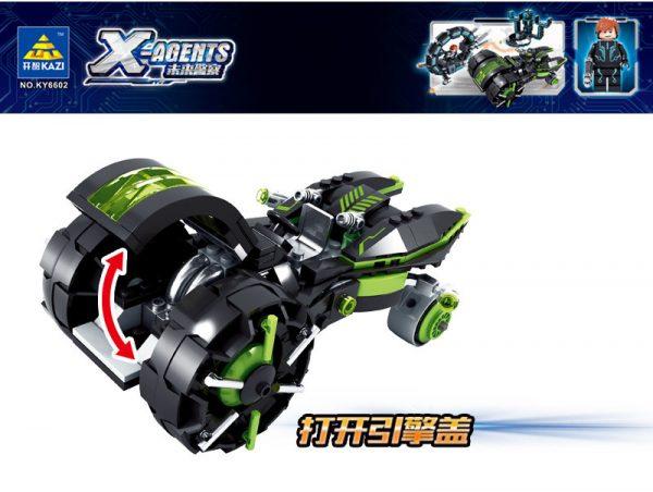 KAZI / GBL / BOZHI KY6602 Future Cops: Speed Chase 1