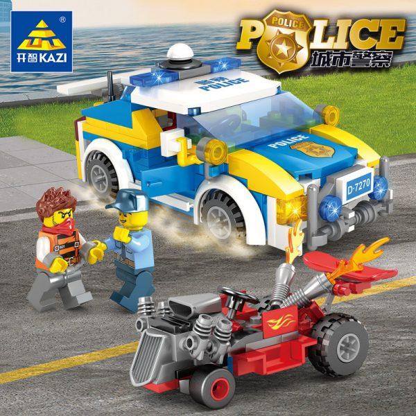 KAZI / GBL / BOZHI 67270 City Police: High-speed chase 3