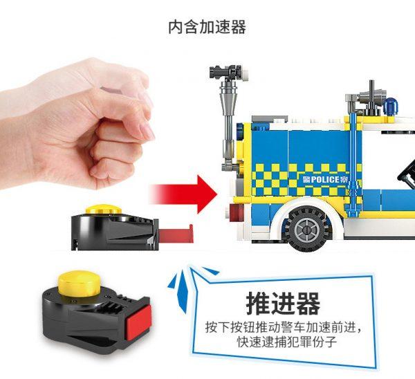 KAZI / GBL / BOZHI 67273 City Police: Special Police Check Card Points 2