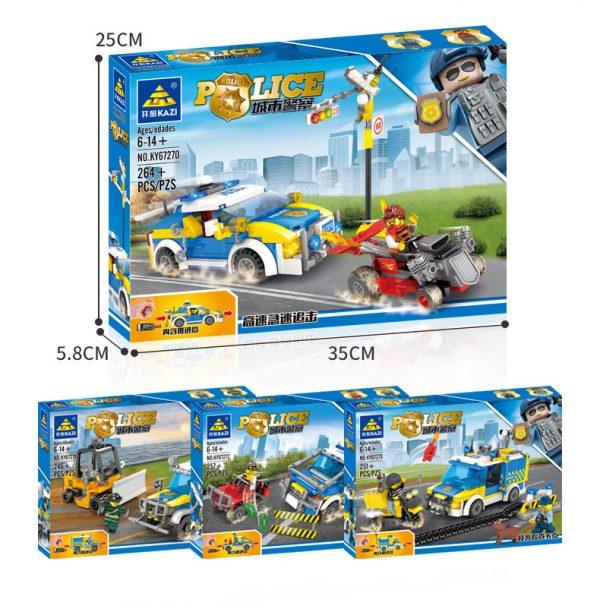 KAZI / GBL / BOZHI 67270 City Police: High-speed chase 8