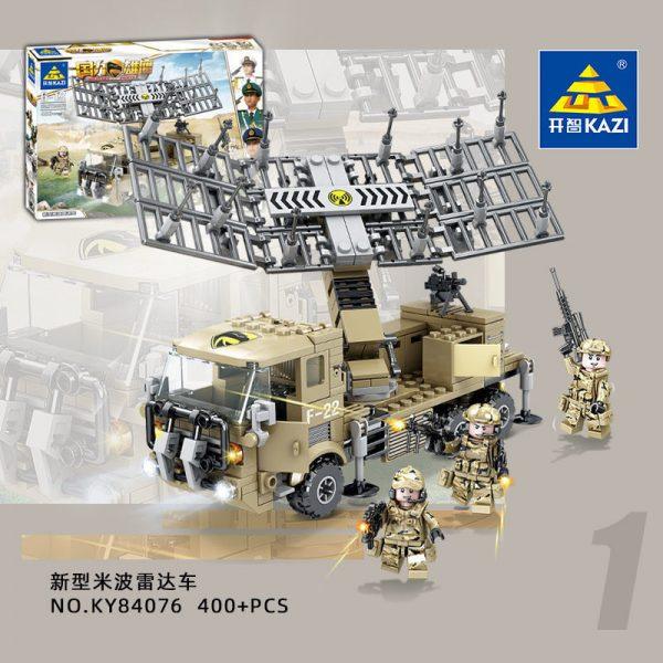 KAZI / GBL / BOZHI KY84076 National Eagle: Radar Tank Car KY84076 1