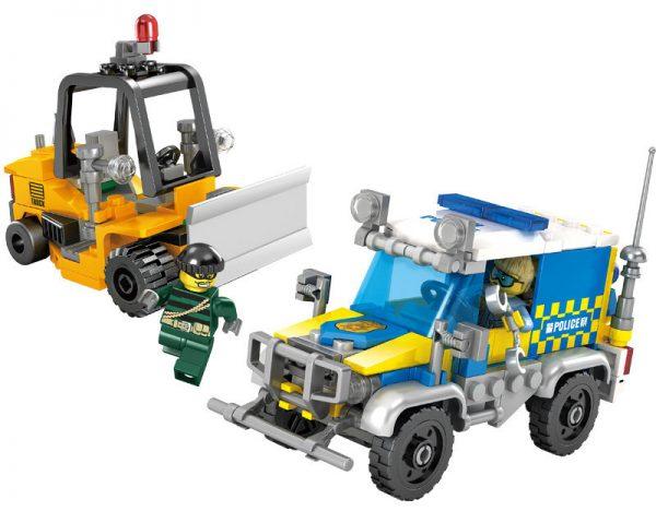 KAZI / GBL / BOZHI 67271 City police: Area hunts loader 0