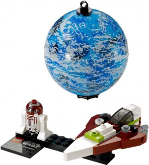 KAZI / GBL / BOZHI KY88011 Jedi Starfighter and Carmino Planet 0