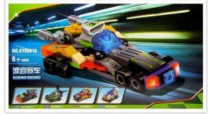 KAZI / GBL / BOZHI KY89016-4 Ultimate Racing: Boeing Racing 4 Combinations 0
