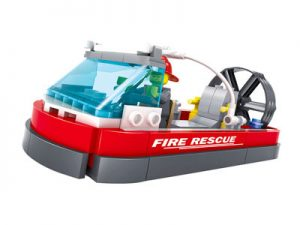 KAZI / GBL / BOZHI KY98203 Fire Police: Fire Boat 0