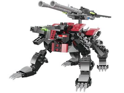 KAZI / GBL / BOZHI KY98114-1 Armored Machine Beasts: Imperial Lightning Leopard, Firefox 0