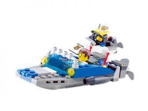 KAZI / GBL / BOZHI KY6733 Water Police Boat 0