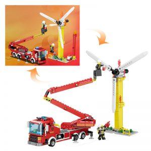 KAZI / GBL / BOZHI KY80519 Fire rescue: folding arm rescue vehicle, high-altitude operation ladder car 1 change 2 0