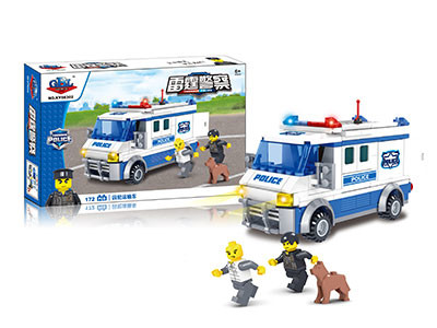 KAZI / GBL / BOZHI KY98302 Thunder Police: Prisoner TransportEr 0