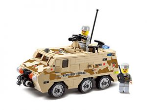 KAZI / GBL / BOZHI KY84026 Field Troops: Rescue Vehicles 0