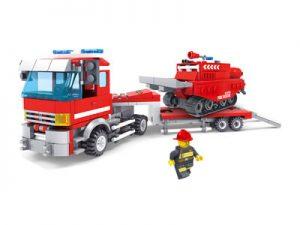 KAZI / GBL / BOZHI KY98212 Fire Police: Trailer 0