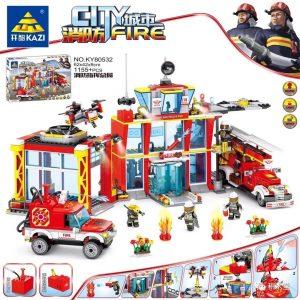 KAZI / GBL / BOZHI KY80532 City Fire: Fire Command Headquarters 0