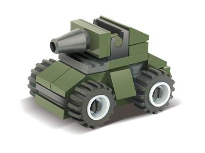KAZI / GBL / BOZHI KY84014 Field Forces: Assault Vehicles 0