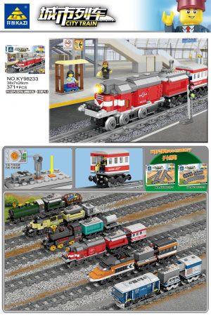 KAZI / GBL / BOZHI KY98233 City Train: Dongfeng 5 Diesel (DF5) (small) 0