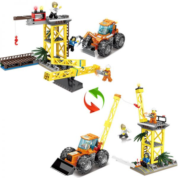 KAZI / GBL / BOZHI KY80522 Fire rescue: barrier-breaking doser, rescue high crane 1 change 2 0