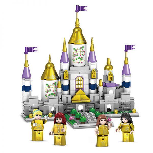 KAZI / GBL / BOZHI KY98709 Dream Golden Castle, four-in-one. 0