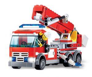 KAZI / GBL / BOZHI KY8053 Fire: Ladder Fire Truck 0