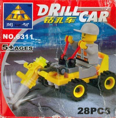 KAZI / GBL / BOZHI 6311 Drilling car 0