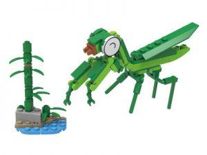 KAZI / GBL / BOZHI KY80021-4 Insect Mobilization: Happy Little Mantis 0