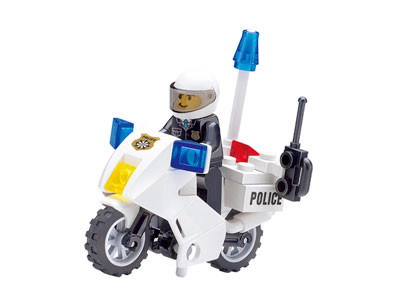 KAZI / GBL / BOZHI KY6734 Police motorcycle 0