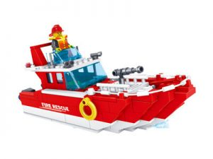KAZI / GBL / BOZHI KY98204 Fire Police: Fire Boat 0