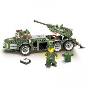 KAZI / GBL / BOZHI 84004 Field Troops: Quick-Fire Howitzer 0