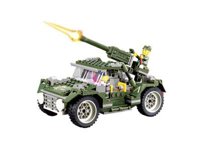 KAZI / GBL / BOZHI 84002 Field Forces: Iron Horse Jeep 0