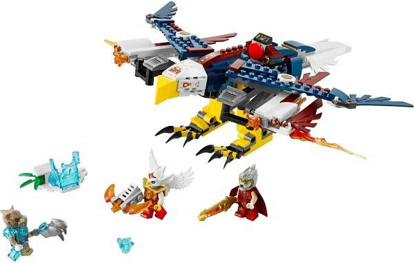 KAZI / GBL / BOZHI 98076 Qigong Legends: Eagle Jess's FireEagle Flying Machine 0