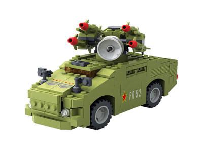 KAZI / GBL / BOZHI KY98401 Red Flag-7 Anti-Aircraft Missile Vehicle 0