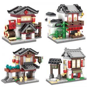 KAZI / GBL / BOZHI KY5005 China Street: Commercial Street Longxiang Tavern, Lingling Baozi Shop, Leming Tea House, Qilu Hotel 0