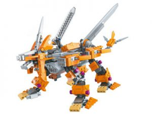 KAZI / GBL / BOZHI KY98113-1 Armory Mechanical Beasts: Heavy Sword Long Tooth Lion, Golden Sword Tooth Tiger 0