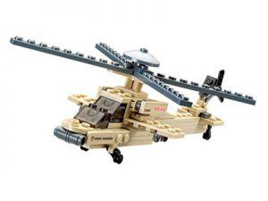 KAZI / GBL / BOZHI KY84023 Field Troops: Apache Helicopters 0