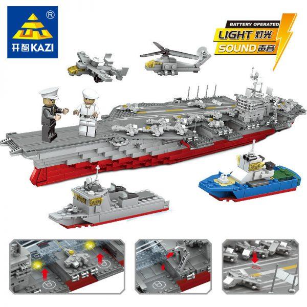 KAZI / GBL / BOZHI KY10002 The Kitty Hawk aircraft carrier 1:400 0