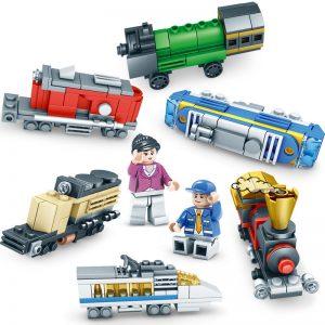 KAZI / GBL / BOZHI KY98222 Creator: City Creative Little Train 0