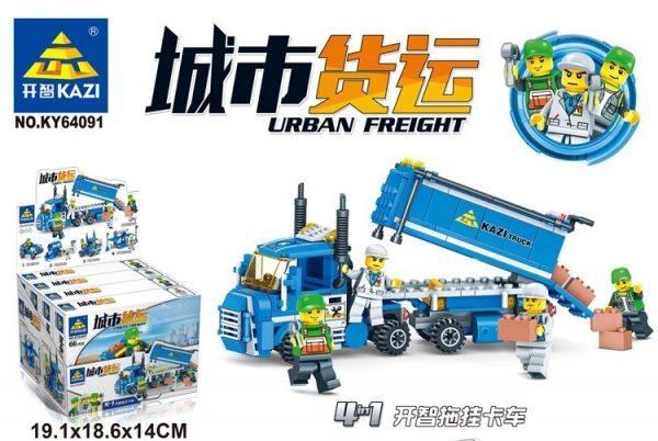 KAZI / GBL / BOZHI KY64091-2 City Freight: Kaizhi Beach Car, Kaizhi Repair Station, Kaizhi Truck Head, Kaizhi Freight Center 0