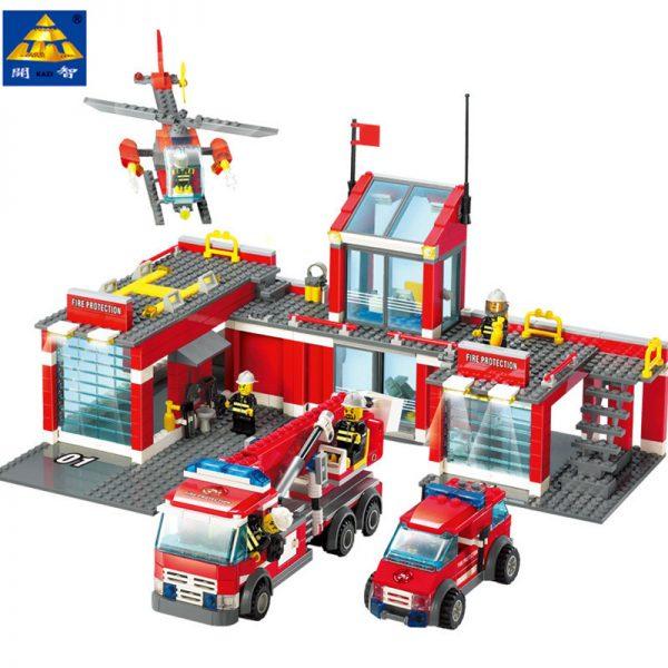 KAZI / GBL / BOZHI KY8051 Fire: Fire Department Headquarters 0
