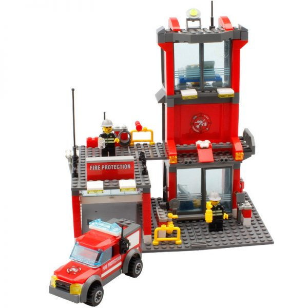 KAZI / GBL / BOZHI KY8052 Fire: Fire Department 0